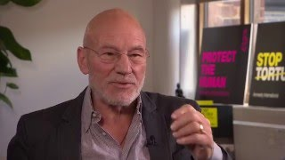 Sir Patrick Stewart on torture, playing Picard, and gay wedding cakes - BBC Newsnight
