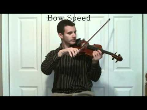 Play Violin Fast - Bow Speed Tips on the Violin