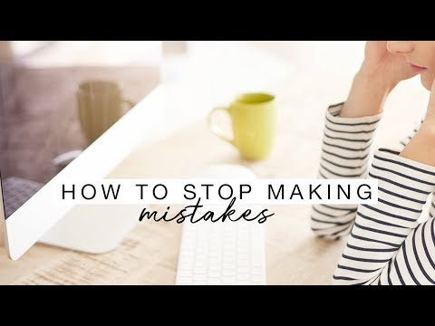 How To Stop Making Mistakes | Motivation Monday