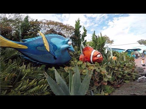Entering Into Epcot ~ Finding Nemo @ Disney World