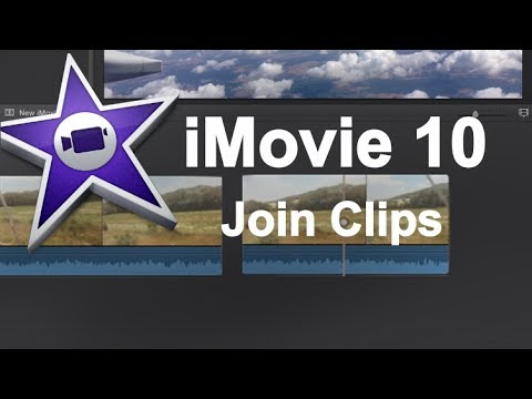 iMovie 10 Quick Tip - Joining Related Clips (Advanced)