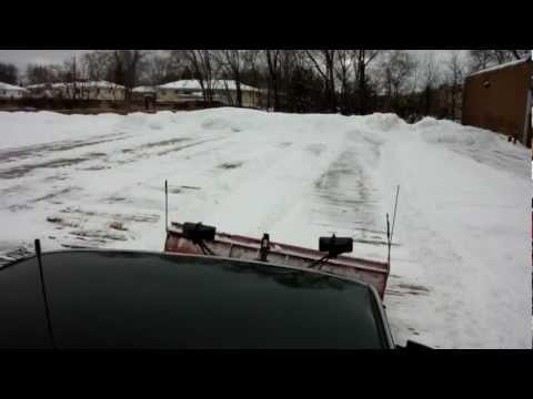 Snow plowing easy money