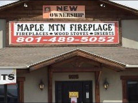 Springville Utah's Maple Mountain Fireplace Shop