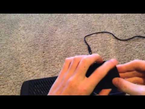 How to take the hard drive out of a Xbox 360 E console