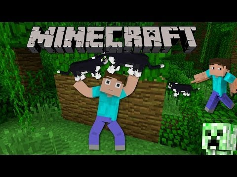 The quest to find the ocelots! - Minecraft  M.A.G.I.C.T.E.R.D (Ep. 4)