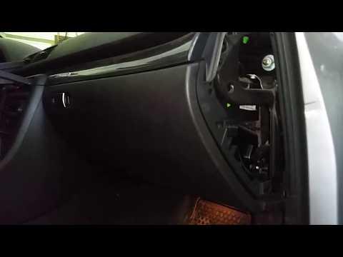 Stuck Glove Box Fix Audi A4