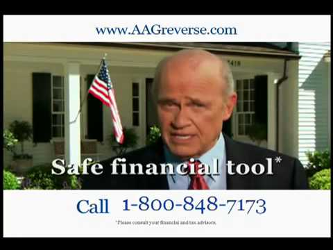 Fred Thompson American Advisors Group (AAG) Commercial for Reverse Mortgage