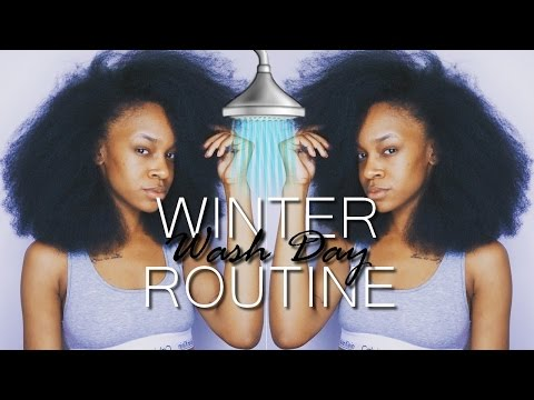 Winter Wash Day Routine 2017 | NATURAL HAIR