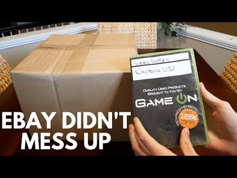 Sega Saturn Unboxing... GONE RIGHT!! (Another eBay Console...)