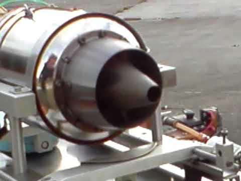 Homemade RC turbine movie