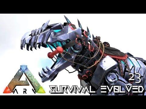 ARK: SURVIVAL EVOLVED - NEW BIONIC DINOS !!! E23 (MODDED ARK PUGNACIA DINOS)