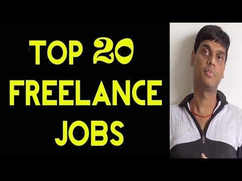 Top 20 Most Popular Freelance Jobs 2018   Every freelancer muust watch   Helping abhi