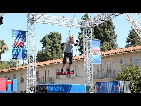 Ellen Takes on 'American Ninja Warrior'