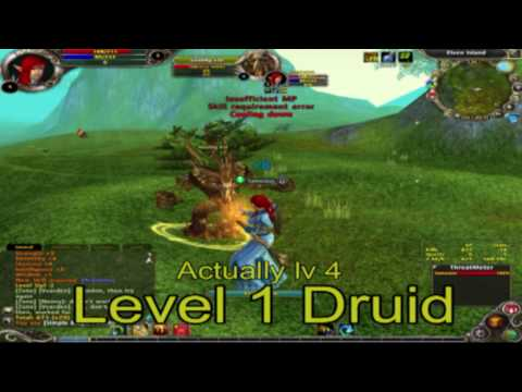 Runes of Magic - Druid lv1 Gameplay