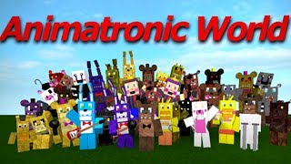 World Of All Animatronics Fnaf 1 2 3 4 5 Fan Games