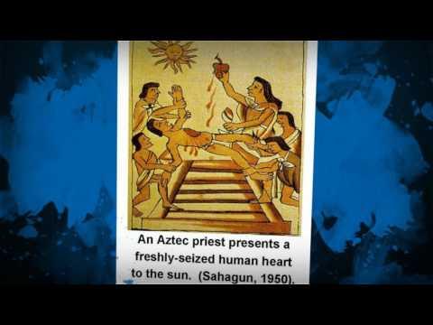 Aztecs: Geography Religion Achievements Video