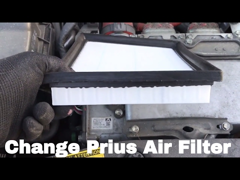 🚗 🚕   How To Change or Replace 2010 Prius Air Filter 2010, 2011, 2012, 2013, 2014, 2015