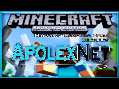 Descargar Minecraft-XBOX 360-Completo-Full-USB