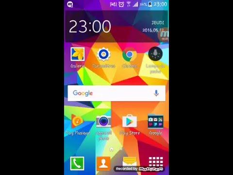 Tuto pour avoir les emojies iPhone sur Samsung Galaxy Grand Plus