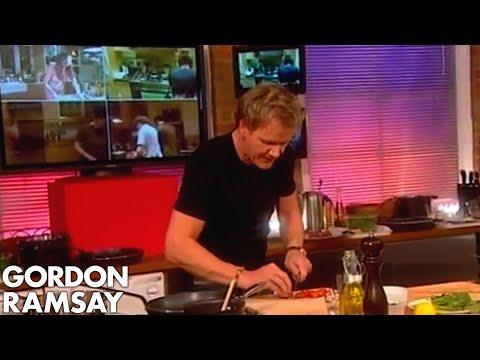 Salsa with Chris Moyles - Gordon Ramsay