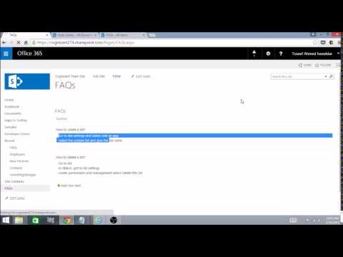 SharePoint2013 TechnicalVideo 01: How to apply Custom CSS to list view