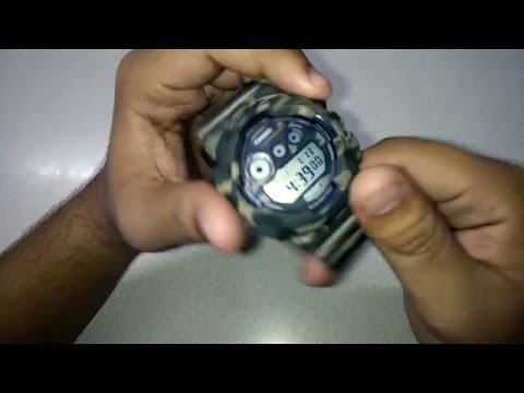 How to Set Up Time In Casio G Shock