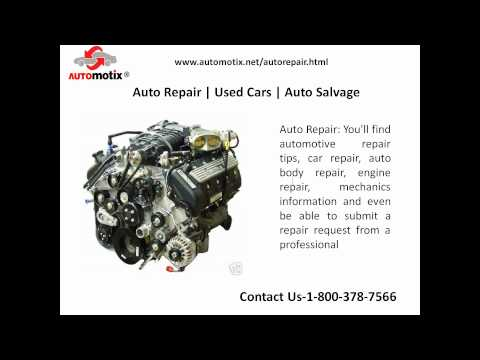 Online Store For Auto Parts And Auto Repair