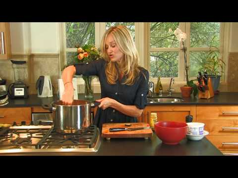 Gorgeously Green: Food : How to make creamy carrot and parsnip soup