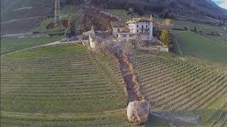 Italian landslide: Huge boulders destroy buildings in South Tyrol