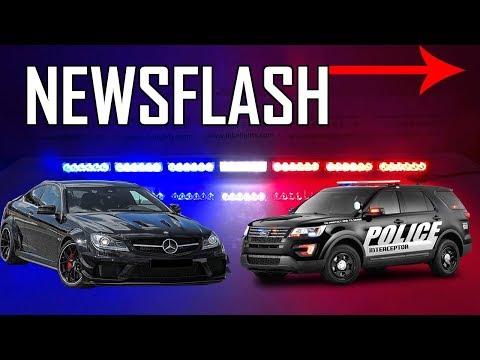 Mercedes takes on police, Ferrari FUV, Hyundai Veloster N & 2019 Ford Shellby GT500(Newsflash EP.2)