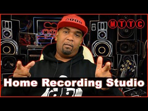How to Setup a Home Recording Studio 2018