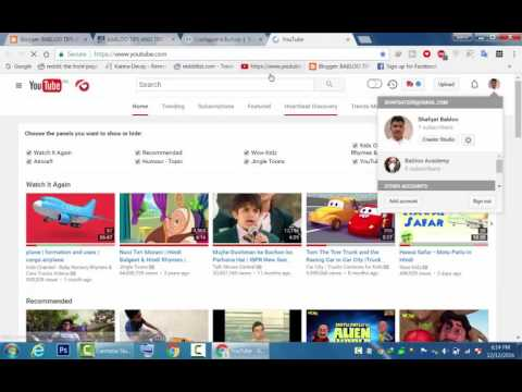 How To Add Youtube Subscribe Button in Blogger 2016 Tutorial