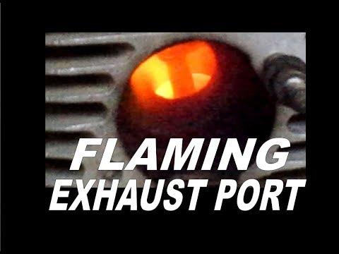 Flaming Exhaust Port