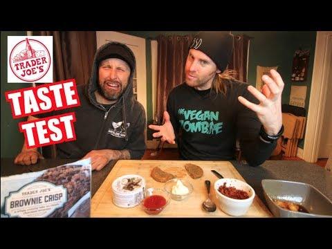 Tasting NEW Trader Joe's Products (VEGAN)