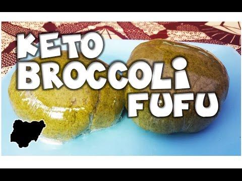 Ketogenic Nigerian Style│How to make Broccoli Fufu Swallow│MakeItWithChichi Ep2