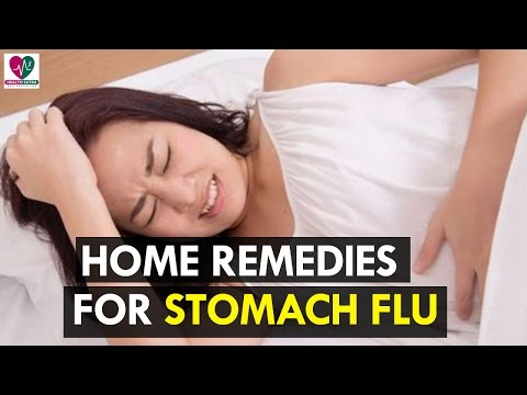 Home Remedies for Stomach Flu - Health Sutra