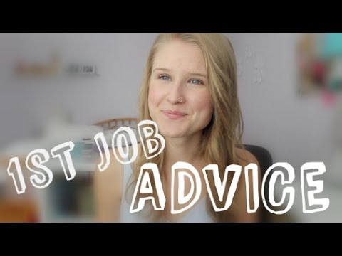 First Job Advice (+ Experience Working in Retail)