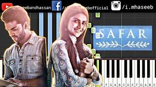 Notebook: Safar Song Piano Tutorial   Zaheer Iqbal & Pranutan Bahl   Mohit Chauhan   Vishal Mishra