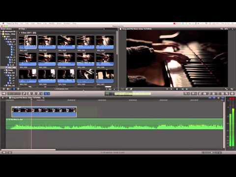 Final Cut Pro X Tutorial pt. 22 - How to cut a Music Video