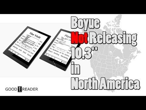Boyue Not Releasing 10 3 in North America