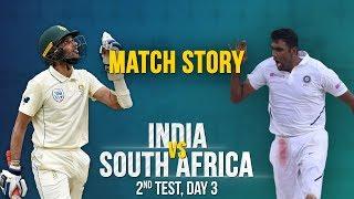 IND v SA, 2nd Test Day 3, Match Story: Maharaj-Philander's grit   Advantage India