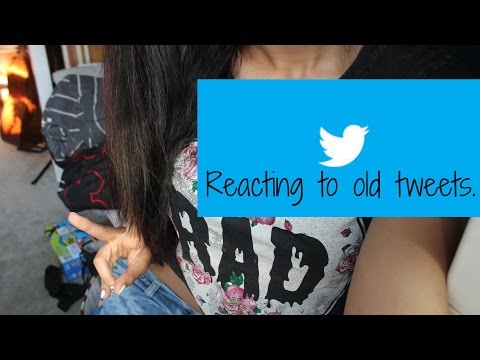 Reacting to Old Tweets