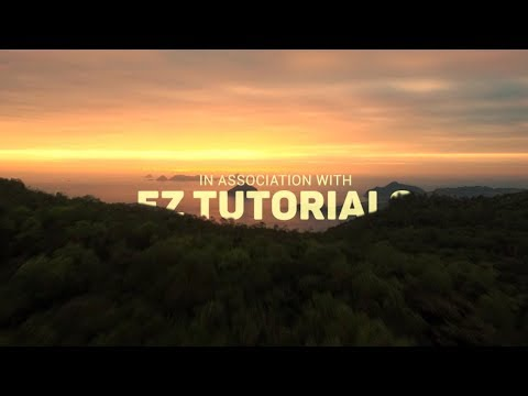 How To Create A Wonderful Cinematic Film Intro In After Effects Tutorial