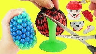 Whats inside color changing squishy toys