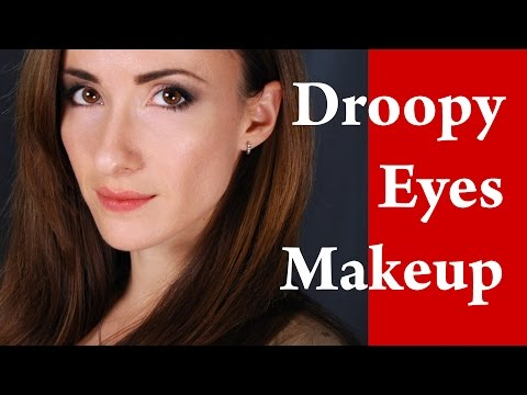 How to apply EYELINER on HOODED DROOPY  ROUND and DOWNTURNED eyes video tutorial