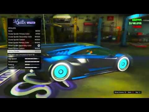 GTA 5 Online: SECRET Car Colors - TRON, Secret Gold,Galaxy & More! BEST Paint Jobs (GTA V)
