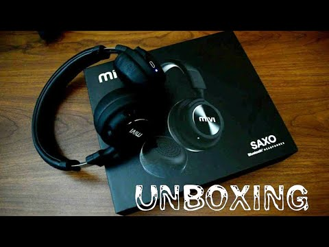 Mivi Saxo Wireless Headphone Unboxing and Overview