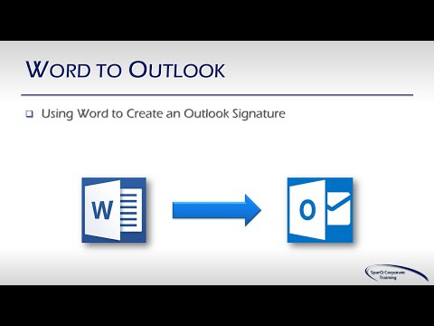 Office Integration  - Part 2b of 10 Parts -  Word to Outlook