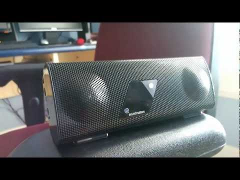 [HD] Sound Matters Foxl Portable Bluetooth Speaker Review