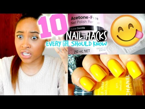 10 Nail Hacks Every Girl Should Know!